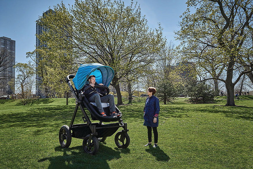 Oh Baby Wait What It S An Adult Sized Stroller World